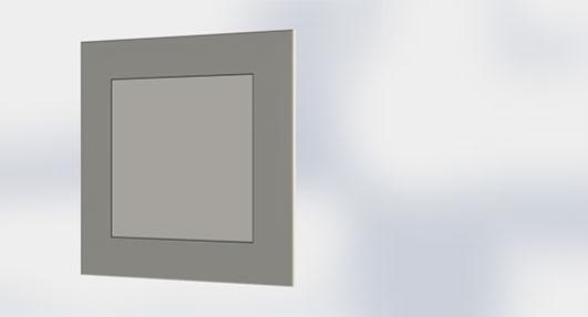 Squared Corner Panel
